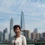 近代化される上海ビュー