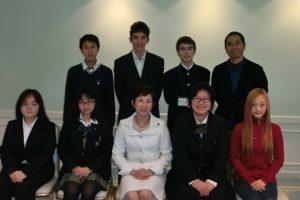 「外国にルーツを持つ高校生へのキャリアデザイン研修」