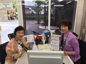 芦田さんとご一緒にラジオ